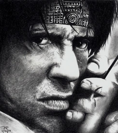 Sylvester Stallone by JRFortson